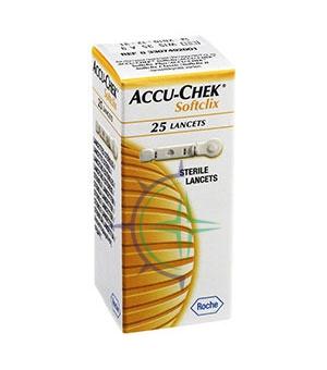 Accu-Chek Linea Controllo Glicemia SoftClix 25 Lancette Pungidito