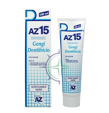 AZ Linea Igiene Orale AZ15 Gengi Dentrificio Protezione Gengive Classico 100 ml