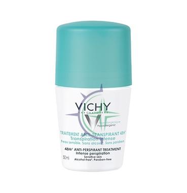 Vichy Linea Deo Anti-Traspirante Deodorante Roll-on con Sali Di Alluminio 50 ml