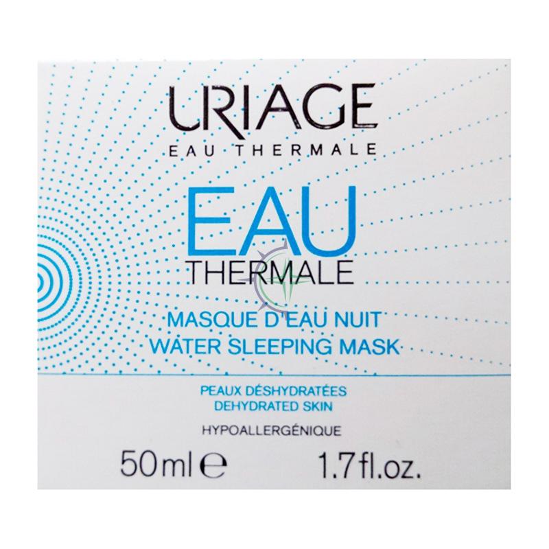 Uriage Linea Eau Thermale Masque D'Eau Nuit Maschera Acqua Gel Idratante 50 ml