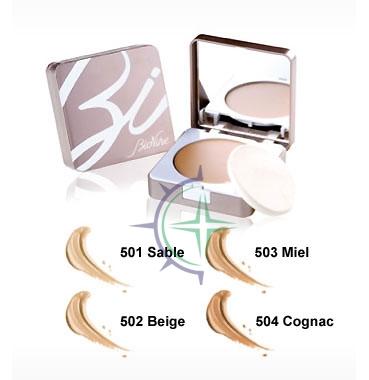 Bionike Linea Defence Color Fondotinta Compatto Second Skin 9 ml 501 Sabbia