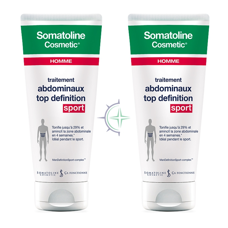 Somatoline Cosmetic Linea Uomo Snellente Top Definition Sport Duo 2x200 ml