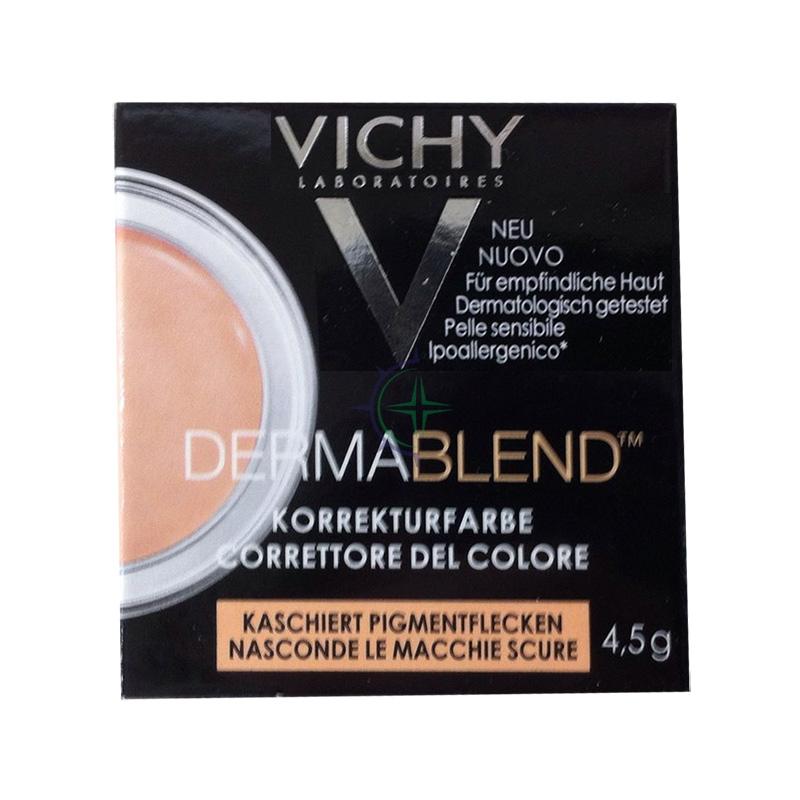 Vichy Make-up Linea Dermablend Correttore del Colore Elevata Coprenza Albicocca