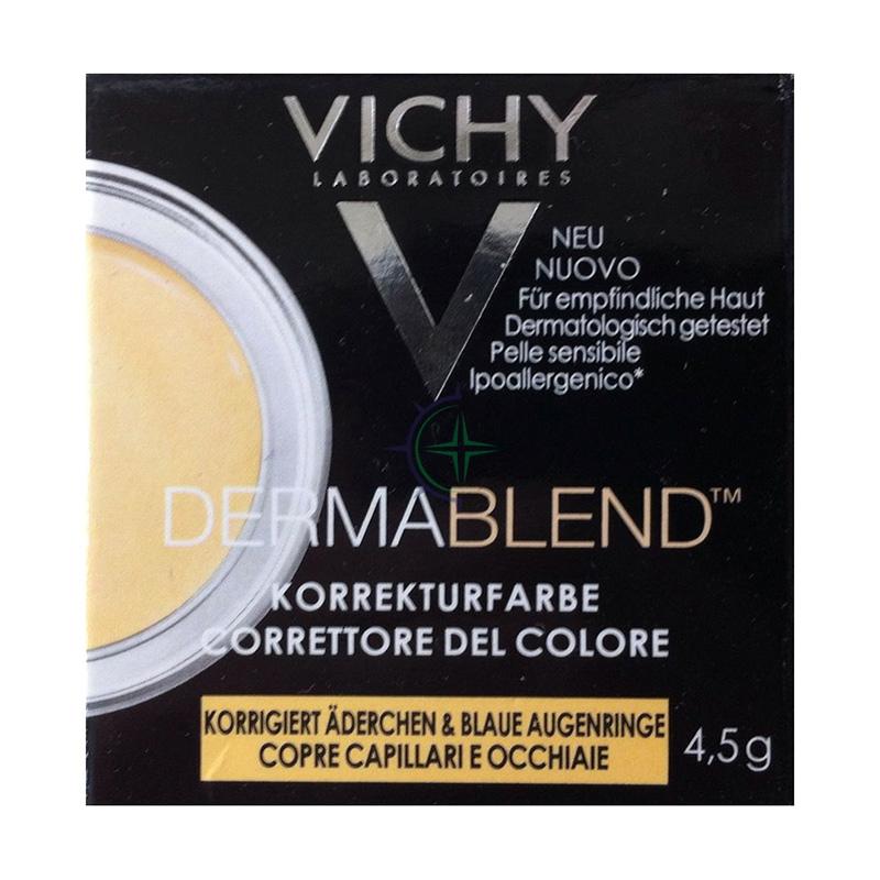 Vichy Make-up Linea Dermablend Correttore del Colore Elevata Coprenza Giallo