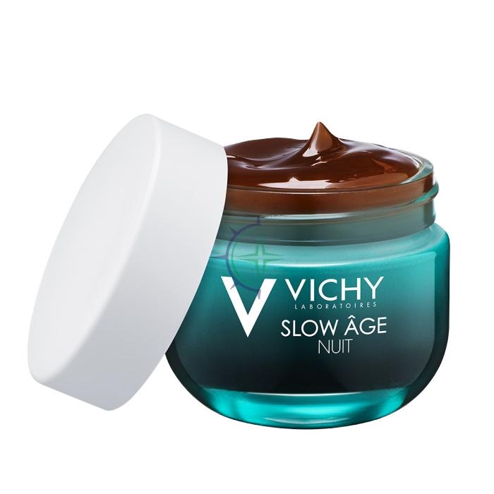 Vichy Linea Slow Age Trattamento Rughe in Formazione Crema Gel Notte 50 ml